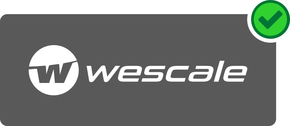 wescale Logo Hinweis 3