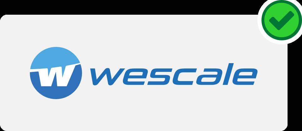 wescale Logo Hinweis 1