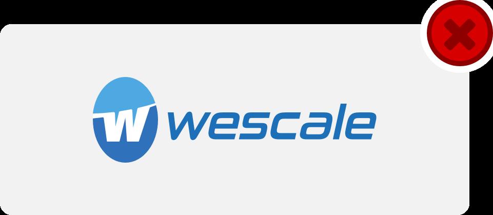wescale Logo Hinweis 10