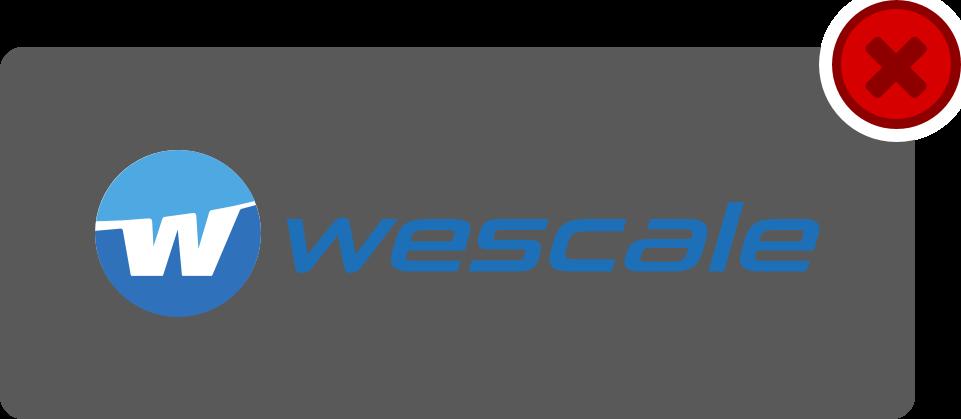 wescale Logo Hinweis 4