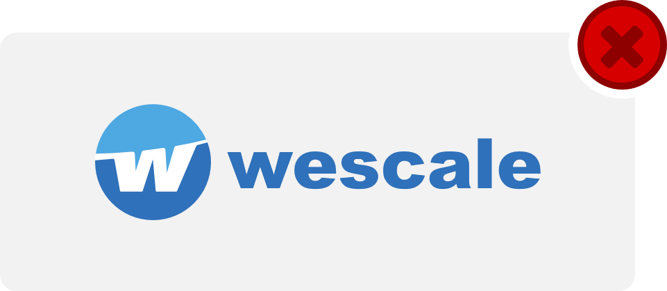 wescale Logo Hinweis 12