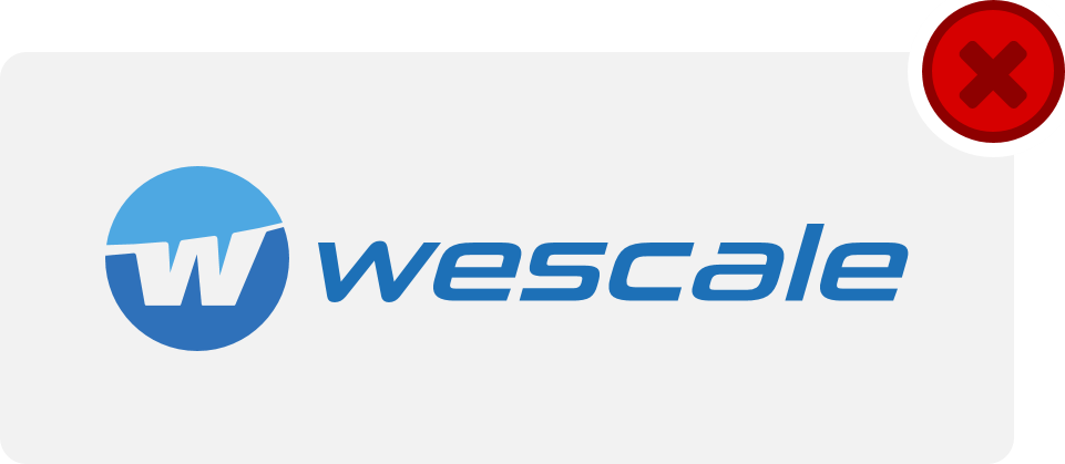 wescale Logo Hinweis 8