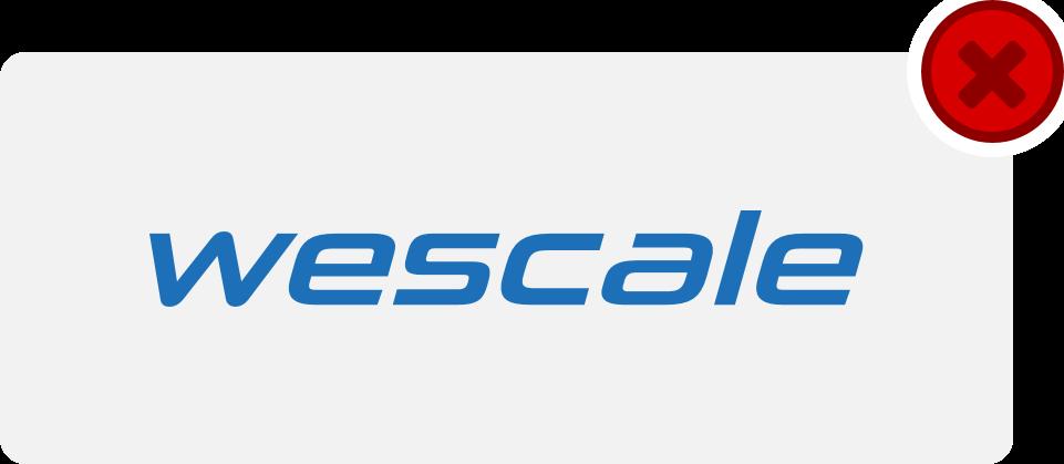 wescale Logo Hinweis 14