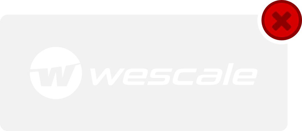 wescale Logo Hinweis 2