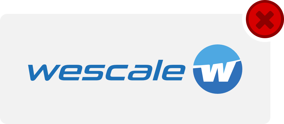wescale Logo Hinweis 9