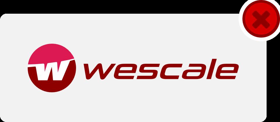 wescale Logo Hinweis 7