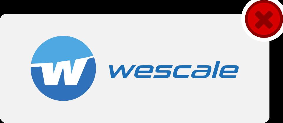 wescale Logo Hinweis 11