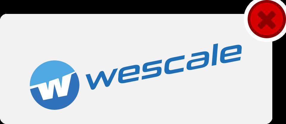 wescale Logo Hinweis 13